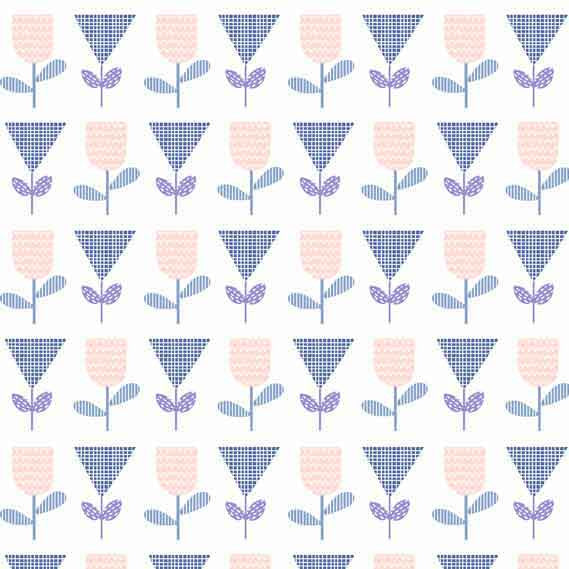 Makower UK Floral Splendor 8378B F5700 - The Fabric Bee