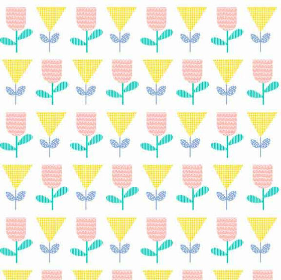 Makower UK Floral Splendor 8378Y F5701 - The Fabric Bee