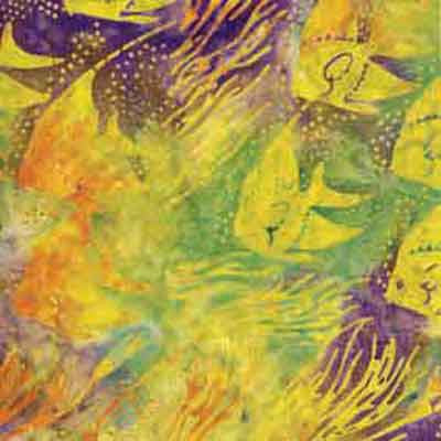 Makower Island Batik 720 F5716 - The Fabric Bee