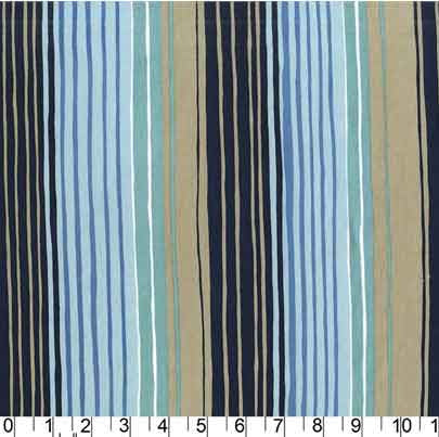Sandpipers Tideline Stripe by Michael Miller F5815 - The Fabric Bee