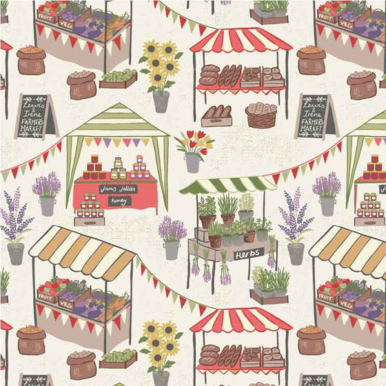 Lewis and Irene Farmers Market A209.1 F5937 - The Fabric Bee