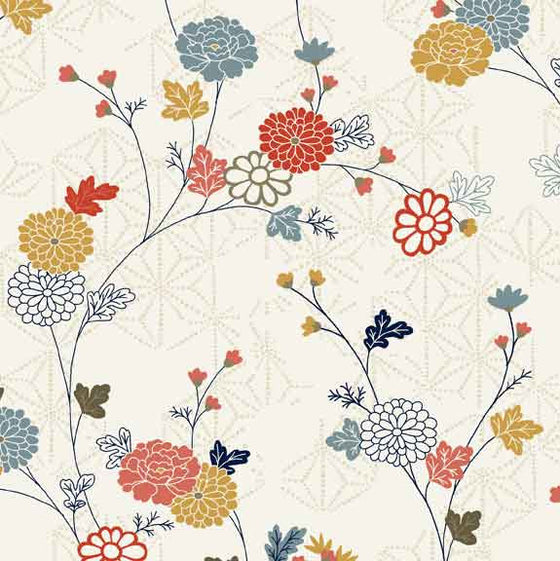 Makower UK Japanese Garden 1857/Q F5961 - The Fabric Bee