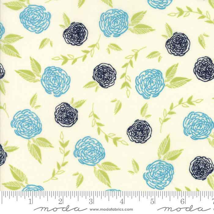 Moda Creekside 37531 11 F6226 - The Fabric Bee