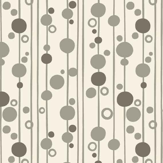 Uptown Bubbles Grey 8667C F6291 - The Fabric Bee