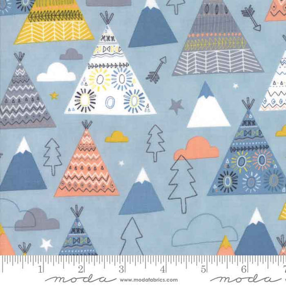 Moda Wild and Free by Abi Hall 35312 15 F6342 - The Fabric Bee