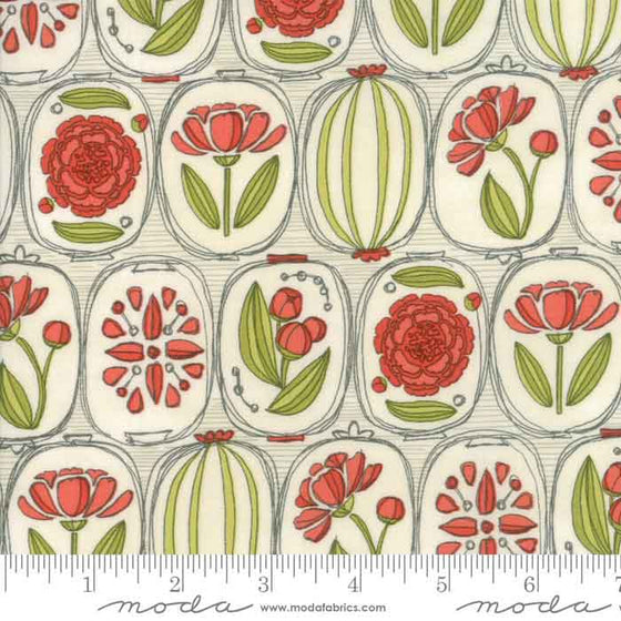 Moda Blushing Peonies by Robin Pickens 48611 11 F6350 - The Fabric Bee