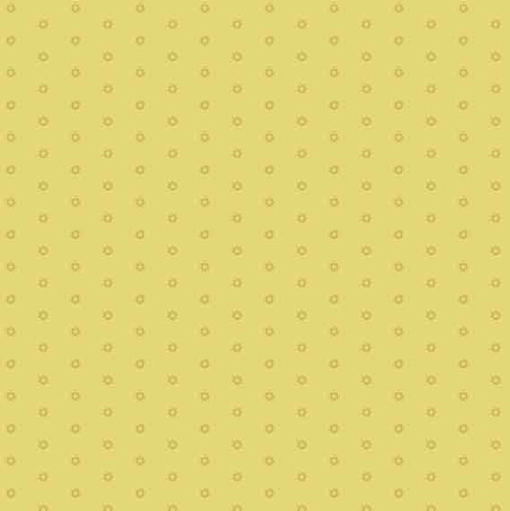 Makower UK Bijoux Mellow Yellow 8703YG F6379 - The Fabric Bee