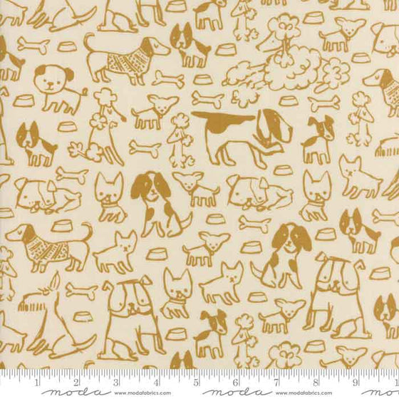 Moda Woof Woof Meow 20563 12 F6386 - The Fabric Bee