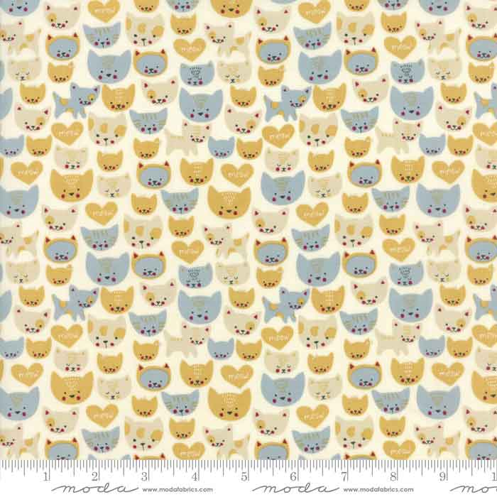 Moda Woof Woof Meow 20565 11 F6388 - The Fabric Bee