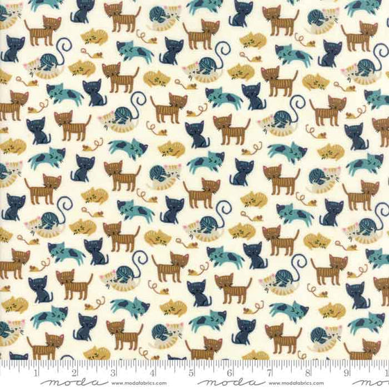 Moda Woof Woof Meow 20564 21 F6390 - The Fabric Bee