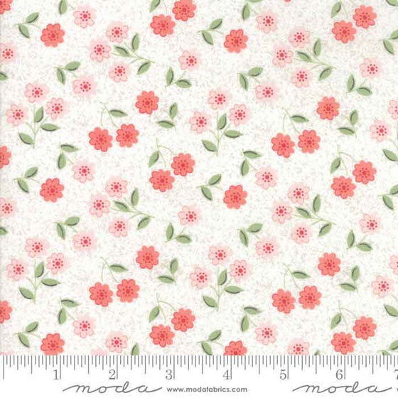Floral Fabric, Cotton Patchwork Material, Dressmaking Material