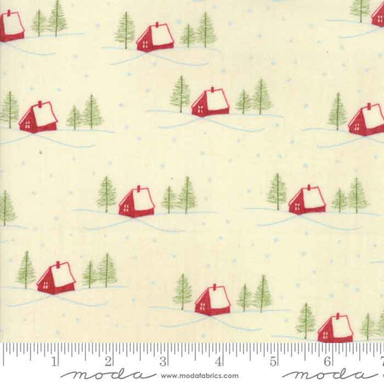 Moda Wintertide Christmas patchwork and quilting cotton fabric by Janet Clare