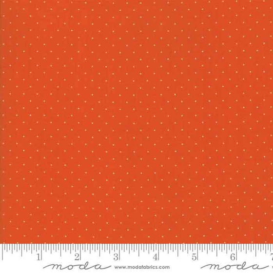 Play All Day by American Jane, Moda Fabric, Orange Spot Material