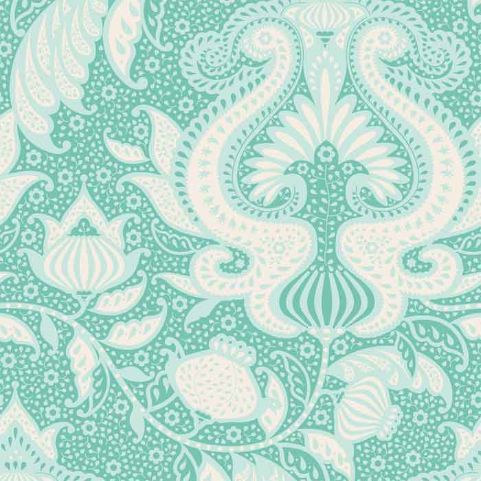 Tilda Patchwork Fabric Sunkiss Ocean Flower F6610 - The Fabric Bee