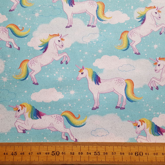 Enchanted Unicorns F6657 - The Fabric Bee