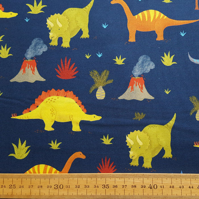 Prehistoric  Adventure by Katherine Lenius 18612-9 F6664 - The Fabric Bee