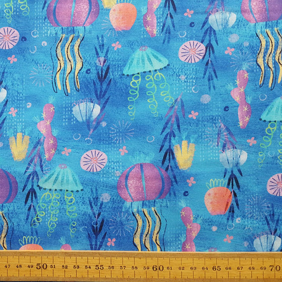 Octopus Garden by Amy Schimler-Safford 18782-59 F6665 - The Fabric Bee