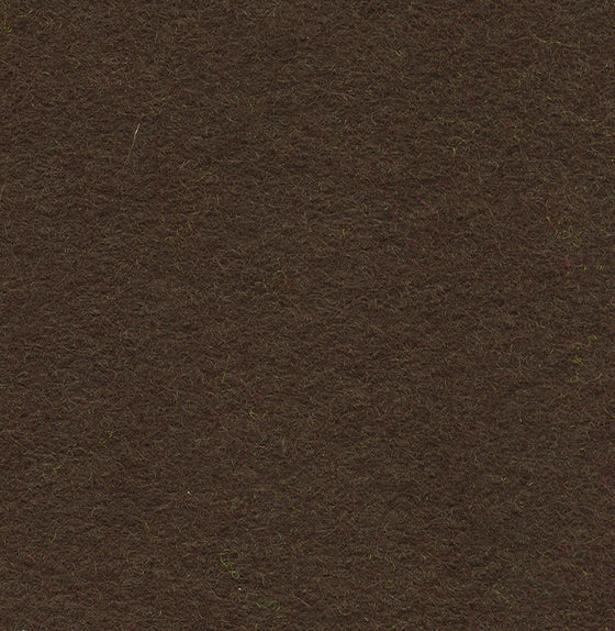 "Wool Mix Felt 12"" Square Dark Brown - The Fabric Bee"