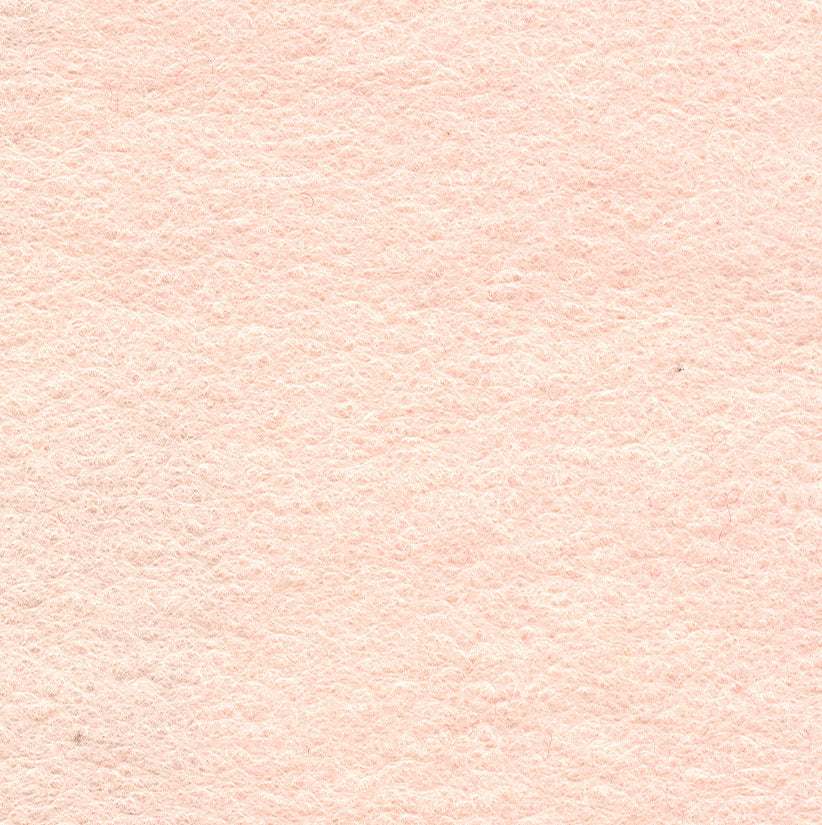"Wool Mix Felt 9"" Square Flesh Pink"