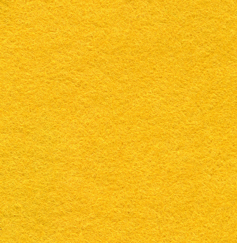 "Wool Mix Felt 12"" Square Gold - The Fabric Bee"