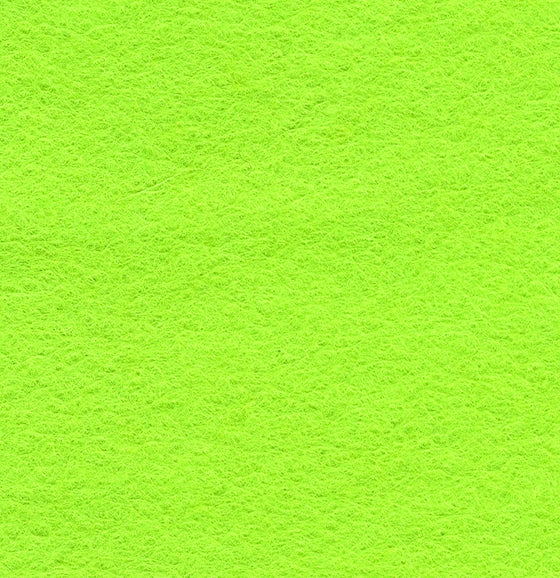 "Wool Mix Felt 12"" Square Leaf Green - The Fabric Bee"