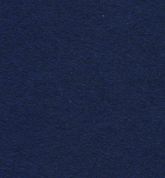 "Wool Mix Felt 9"" Square Navy Blue"