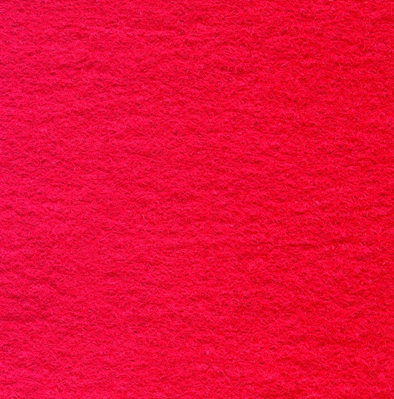 "Wool Mix Felt 12"" Square Red - The Fabric Bee"
