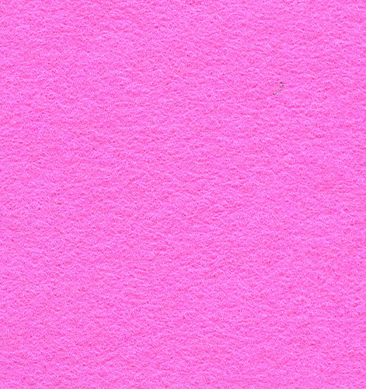 "Wool Mix Felt 9"" Square Pink - The Fabric Bee"