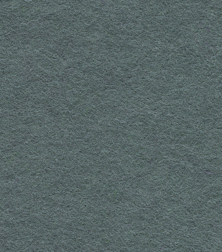 Wool Mix Felt by the Metre - Dark Grey - The Fabric Bee