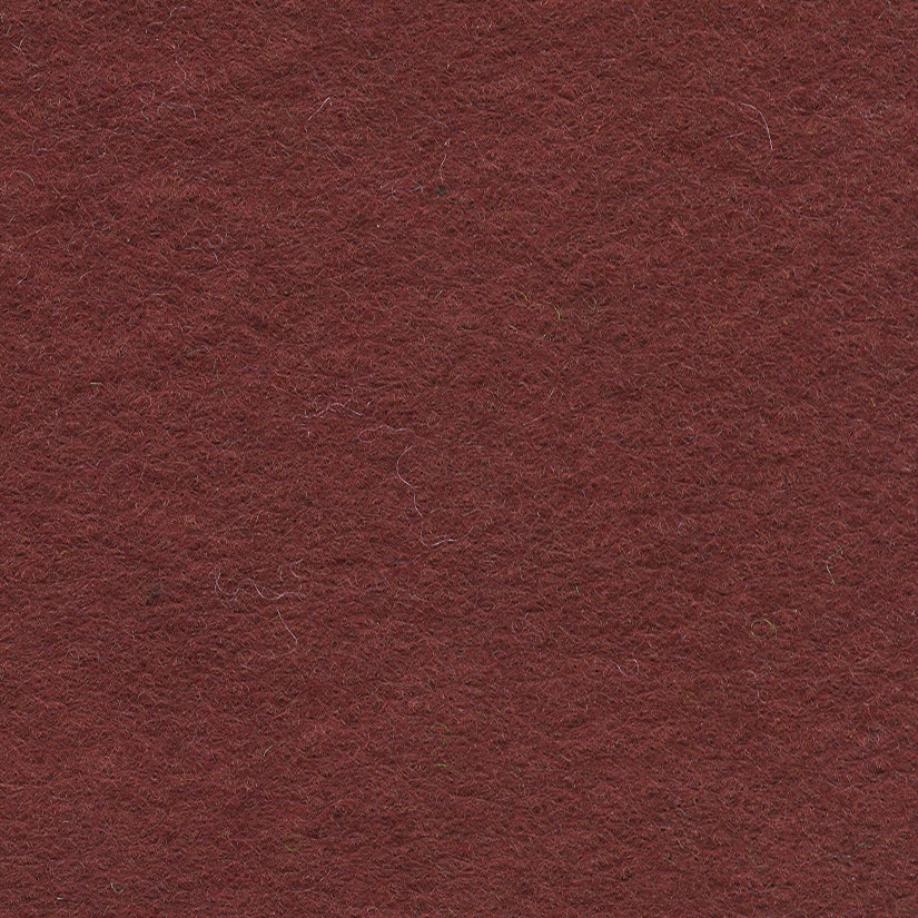 "Wool Mix Felt 12"" Square Chestnut - The Fabric Bee"