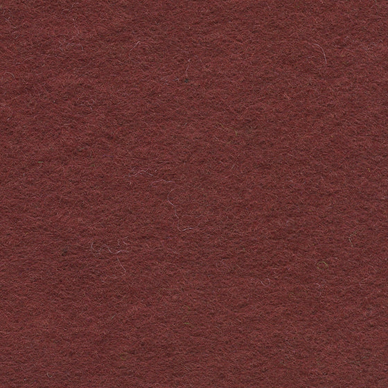 "Wool Mix Felt 12"" Square Chestnut"