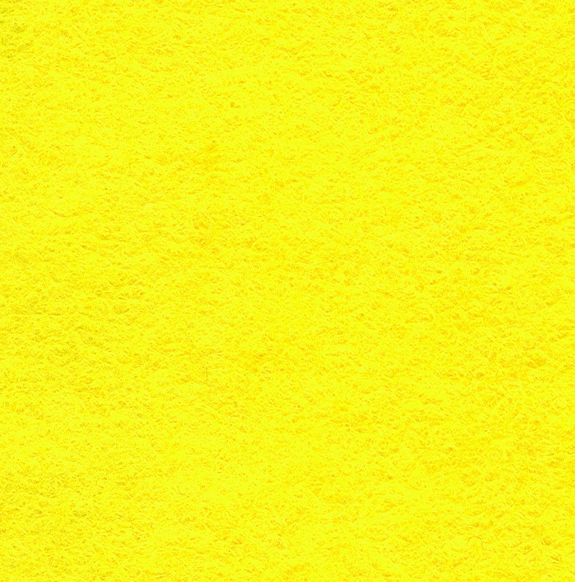 "Wool Mix Felt 9"" Square Yellow"