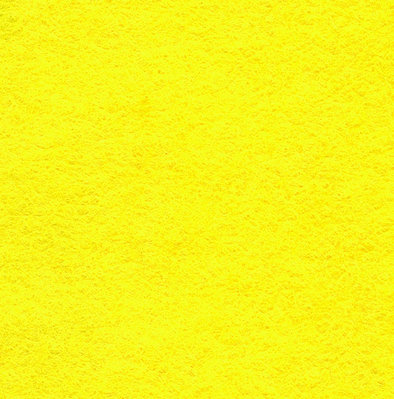 "Wool Mix Felt 9"" Square Yellow - The Fabric Bee"