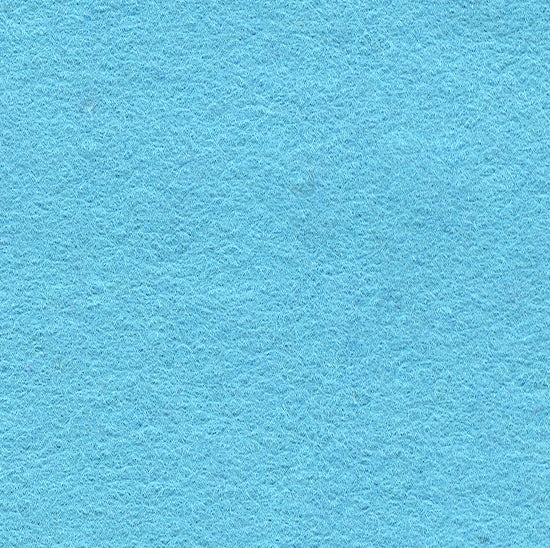 "Wool Mix Felt 12"" Square Light Blue"