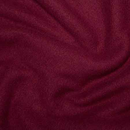 Wine Polyester Fleece