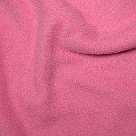 Pink Polyester Fleece - The Fabric Bee
