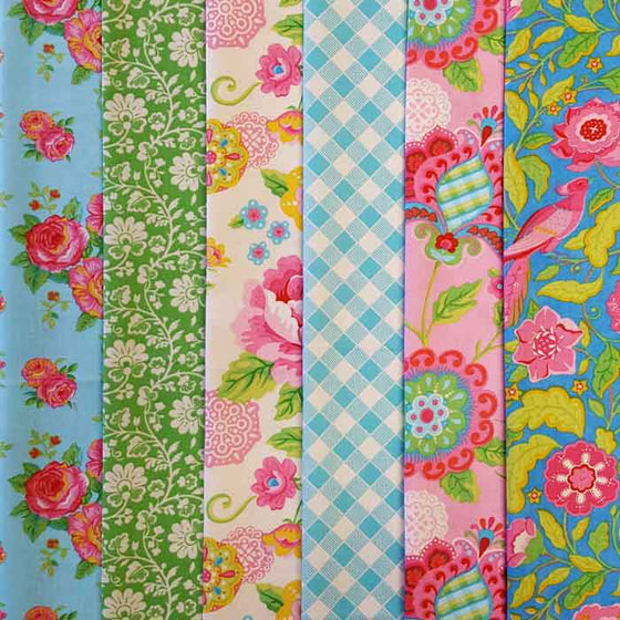 Gypsy Girl 6 Fat Quarter Pack A