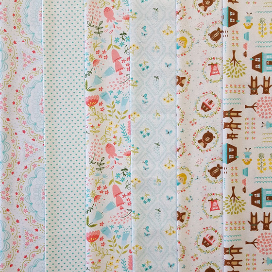 Home Sweet Home 6 Fat Quarter Pack A