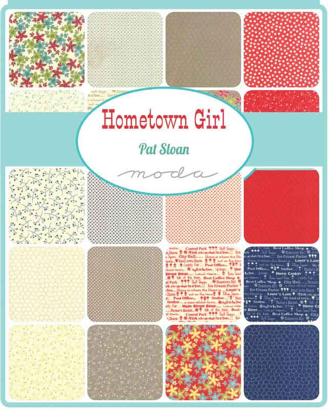 Moda Hometown Girl Layer Cake - The Fabric Bee