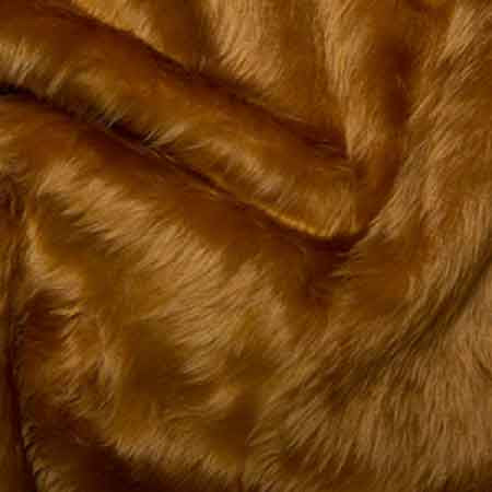 Fur Fabric Honey