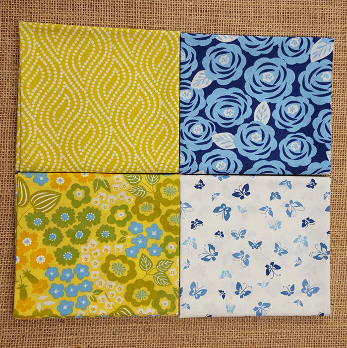 Moda Lazy Days Fat Quarter Pack - The Fabric Bee