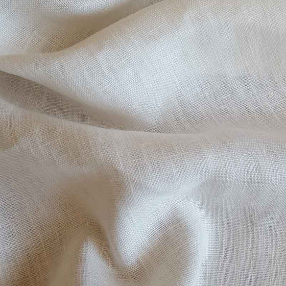 Washed Linen Ivory C6378 - The Fabric Bee
