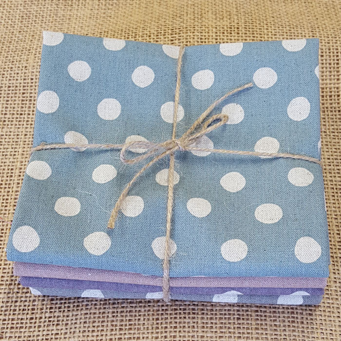 Cotton/Flax Spot Fat Quarter Pack - The Fabric Bee