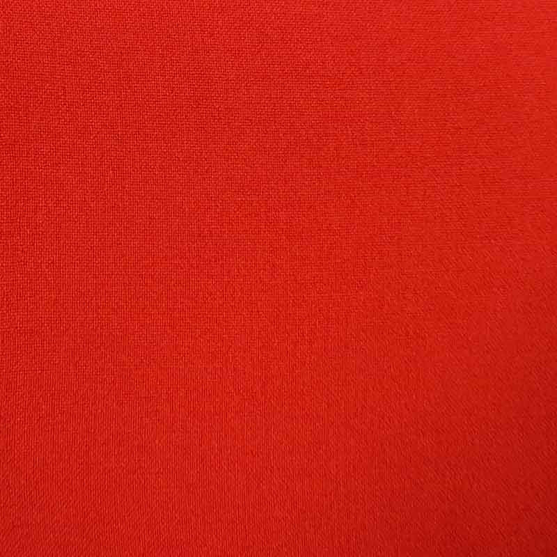 Polyester/Viscose Fabric 2017G Red