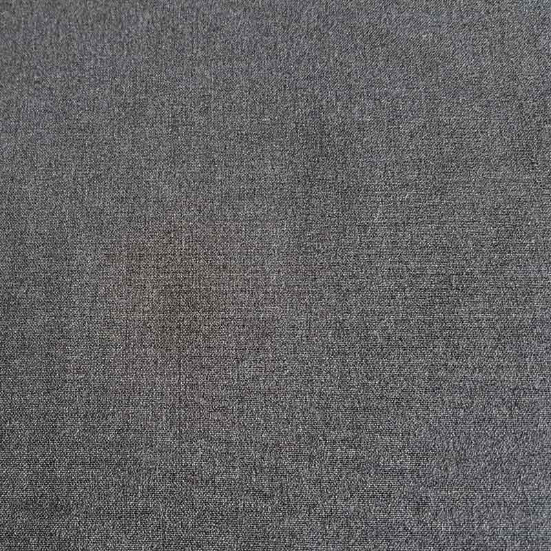 Polyester/Viscose Fabric 2017B Charcoal Grey