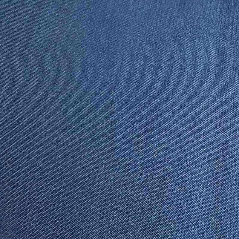 Polyester/Viscose Fabric KF7235 Denim Blue