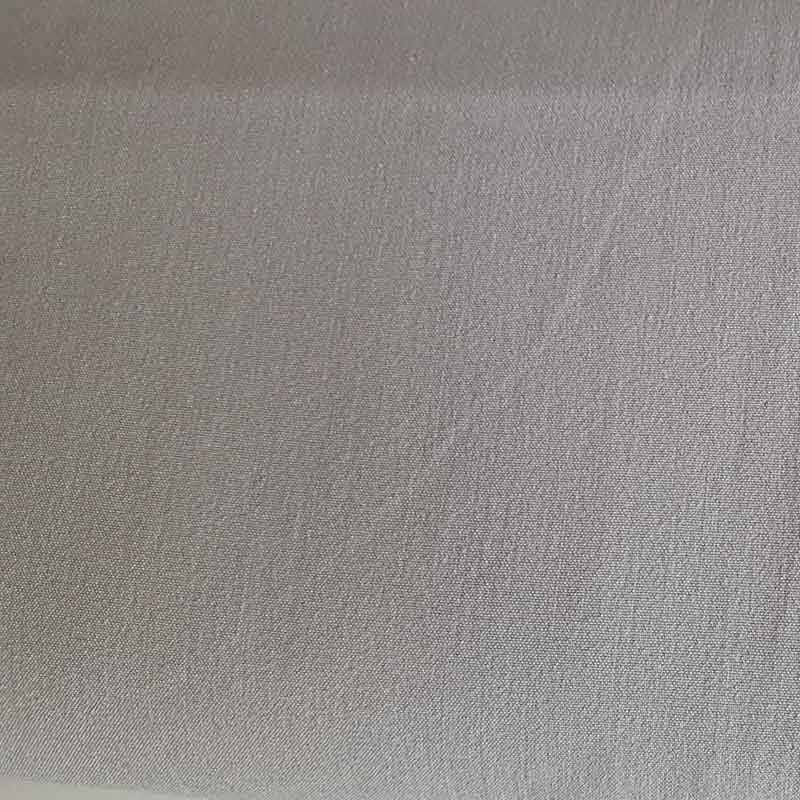 Polyester/Viscose Fabric KF7235 Silver Grey - The Fabric Bee
