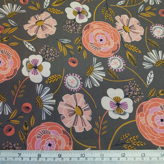 Rayon Challis Fabric Dashwood Studio 1456 - The Fabric Bee