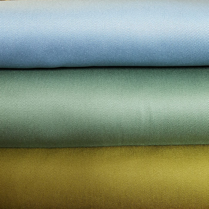Cotton Sevenberry Twill 17000/L215 Duck Egg Blue - The Fabric Bee
