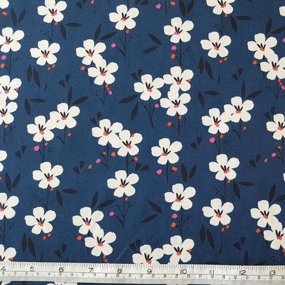 Rayon Challis Fabric Soiree 1506 from Dashwood Studio